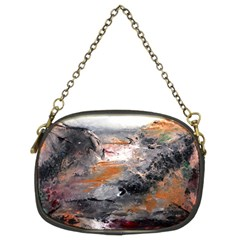 Natural Abstract Landscape Chain Purses (two Sides)
