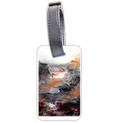 Natural Abstract Landscape Luggage Tags (Two Sides) by timelessartoncanvas