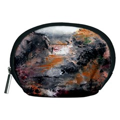 Natural Abstract Landscape Accessory Pouches (Medium)  by timelessartoncanvas