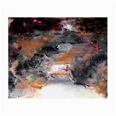 Natural Abstract Landscape No  2 Small Glasses Cloth by timelessartoncanvas