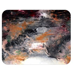 Natural Abstract Landscape No  2 Double Sided Flano Blanket (medium)  by timelessartoncanvas