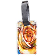 Abstract Rose Luggage Tags (two Sides) by timelessartoncanvas
