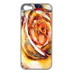 Abstract Rose Apple Iphone 5 Case (silver) by timelessartoncanvas