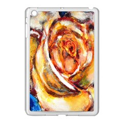 Abstract Rose Apple Ipad Mini Case (white) by timelessartoncanvas