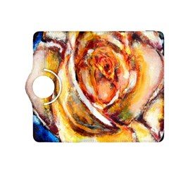 Abstract Rose Kindle Fire HDX 8.9  Flip 360 Case by timelessartoncanvas