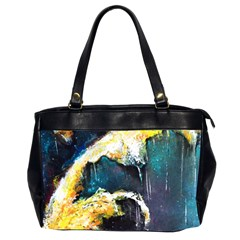 Abstract Space Nebula Office Handbags (2 Sides)  by timelessartoncanvas