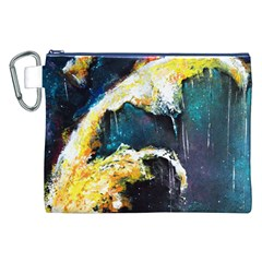 Abstract Space Nebula Canvas Cosmetic Bag (xxl)  by timelessartoncanvas