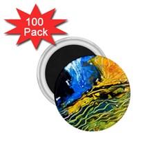 Landlines 1 75  Magnets (100 Pack)  by timelessartoncanvas