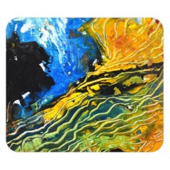 Landlines Double Sided Flano Blanket (small)  by timelessartoncanvas