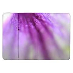 Purple Flower Pedal Samsung Galaxy Tab 8 9  P7300 Flip Case by timelessartoncanvas