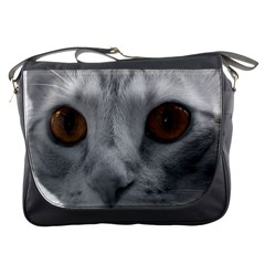 Funny Cat Messenger Bags by timelessartoncanvas
