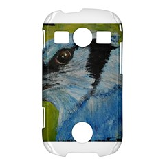 Blue Jay Samsung Galaxy S7710 Xcover 2 Hardshell Case by timelessartoncanvas
