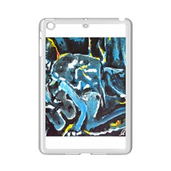 Man And Woman Ipad Mini 2 Enamel Coated Cases by timelessartoncanvas
