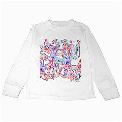 Soul Colour Light Kids Long Sleeve T Shirts by InsanityExpressed