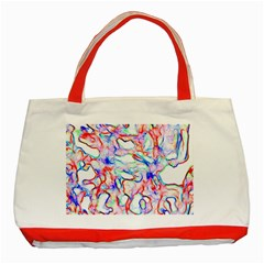 Soul Colour Light Classic Tote Bag (red)  by InsanityExpressed