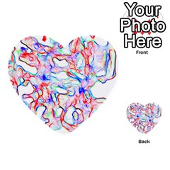 Soul Colour Light Multi Purpose Cards (heart)  by InsanityExpressed
