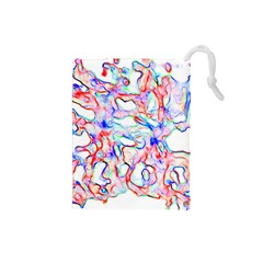 Soul Colour Light Drawstring Pouches (small)  by InsanityExpressed