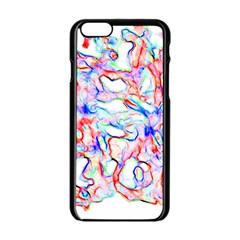 Soul Colour Light Apple Iphone 6 Black Enamel Case by InsanityExpressed