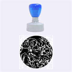 Soul Colour Rubber Round Stamps (medium) by InsanityExpressed