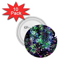 Colour Play Flowers 1 75  Buttons (10 Pack) by InsanityExpressed