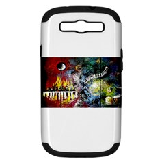 Abstract Music Painting Samsung Galaxy S Iii Hardshell Case (pc+silicone) by timelessartoncanvas