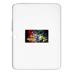 Abstract Music Painting Samsung Galaxy Tab 3 (10 1 ) P5200 Hardshell Case  by timelessartoncanvas