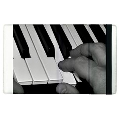 The Piano Player Apple Ipad 3/4 Flip Case by timelessartoncanvas
