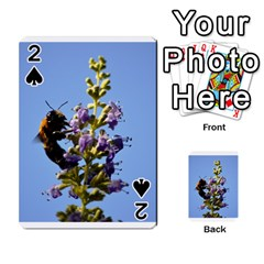 Bumble Bee 1 Playing Cards 54 Designs  by timelessartoncanvas