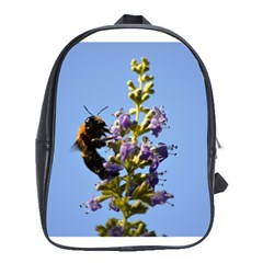 Bumble Bee 1 School Bags (xl)  by timelessartoncanvas