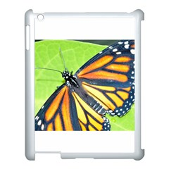 Butterfly 2 Apple Ipad 3/4 Case (white) by timelessartoncanvas