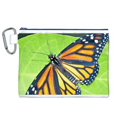 Butterfly 2 Canvas Cosmetic Bag (xl)  by timelessartoncanvas