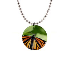 Butterfly 3 Button Necklaces by timelessartoncanvas