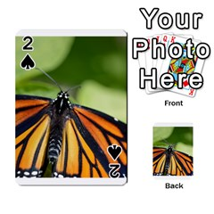 Butterfly 3 Playing Cards 54 Designs  by timelessartoncanvas