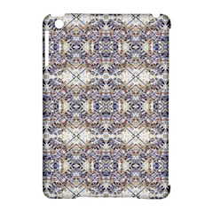 Oriental Geometric Floral Print Apple Ipad Mini Hardshell Case (compatible With Smart Cover) by dflcprints