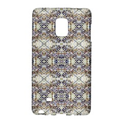 Oriental Geometric Floral Print Galaxy Note Edge by dflcprints