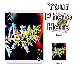 Digitally Enhanced Flower Playing Cards 54 Designs  by timelessartoncanvas