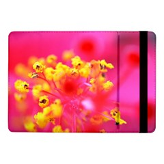 Bright Pink Hibiscus Samsung Galaxy Tab Pro 10 1  Flip Case by timelessartoncanvas