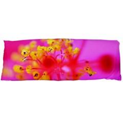 Bright Pink Hibiscus 2 Body Pillow Cases (Dakimakura)