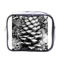 Pinecone Spiral Mini Toiletries Bags by timelessartoncanvas
