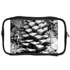 Pinecone Spiral Toiletries Bags by timelessartoncanvas