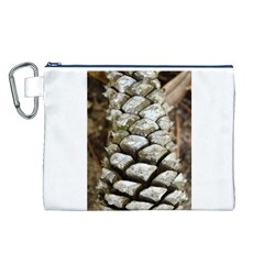 Pincone Spiral #2 Canvas Cosmetic Bag (l) by timelessartoncanvas