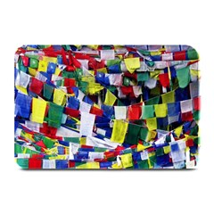Tibetan Buddhist Prayer Flags Plate Mats by CrypticFragmentsColors
