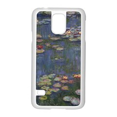Claude Monet   Water Lilies Samsung Galaxy S5 Case (white) by ArtMuseum