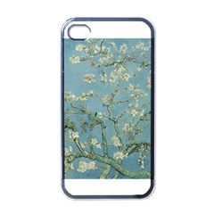 Almond Blossom Tree Apple Iphone 4 Case (black) by ArtMuseum