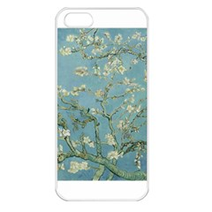 Almond Blossom Tree Apple Iphone 5 Seamless Case (white) by ArtMuseum