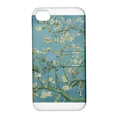Almond Blossom Tree Apple Iphone 4/4s Hardshell Case With Stand by ArtMuseum