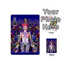 Robot Butterfly Playing Cards 54 (mini)