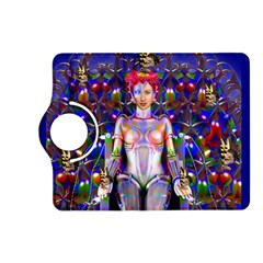 Robot Butterfly Kindle Fire Hd (2013) Flip 360 Case by icarusismartdesigns