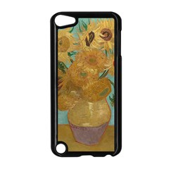 Vincent Willem Van Gogh, Dutch   Sunflowers   Google Art Project Apple Ipod Touch 5 Case (black) by ArtMuseum