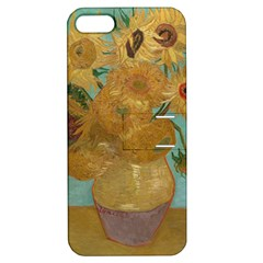 Vincent Willem Van Gogh, Dutch   Sunflowers   Google Art Project Apple Iphone 5 Hardshell Case With Stand by ArtMuseum